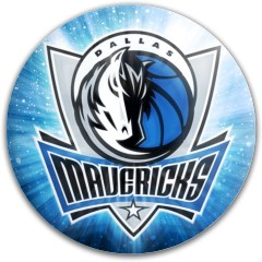 Dallas Mavericks Dynamic Discs Fuzion Slammer Driver Disc