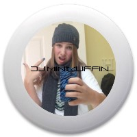 DJ Minimuff Original Discraft Ultrastar Ultimate Frisbee