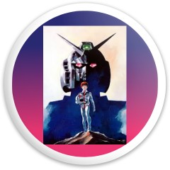 Gundam Dynamic Discs Fuzion Sheriff Driver Disc