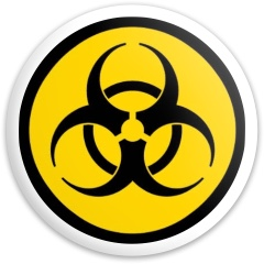 Bio yellow Dynamic Discs Fuzion Enforcer Driver Disc