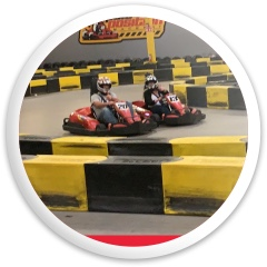 Kart racing Dynamic Discs Fuzion Enforcer Driver Disc