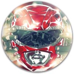 Red Ranger Dynamic Discs Fuzion Felon Driver Disc