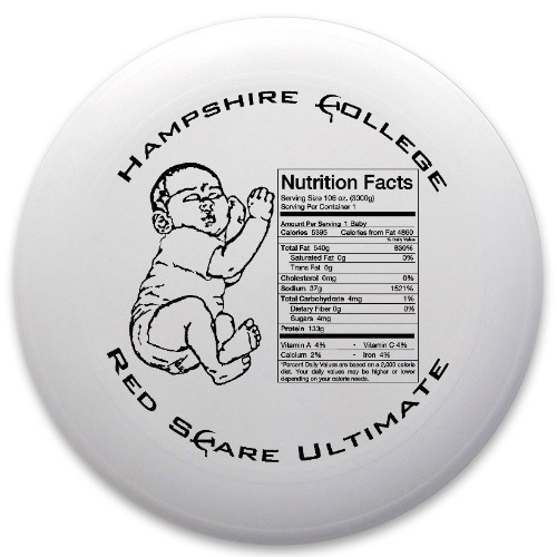 EAT THE BABIES Discraft Ultrastar Ultimate Frisbee