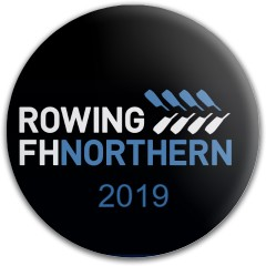 FHN Rowing 2019 Oar Logo Dynamic Discs Fuzion Judge Putter Disc