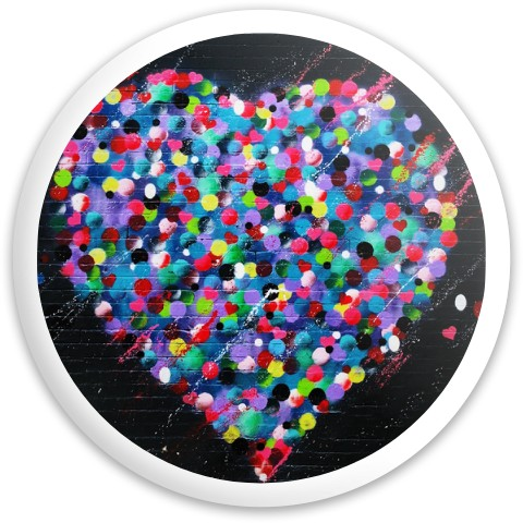 Design #63006 (Love) Dynamic Discs Fuzion Sheriff Driver Disc