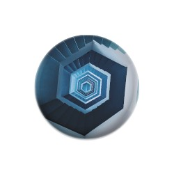 Design #63015 (Optical Illusion Dis Dynamic Discs Judge Mini Disc Golf Marker