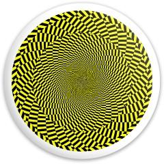 Design #63016 (Optical Illusion) Dynamic Discs Fuzion Sheriff Driver Disc