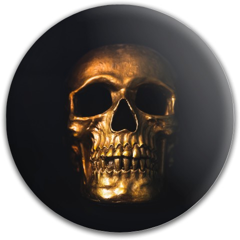 Design #63097 (Skull) Dynamic Discs Fuzion Felon Driver Disc