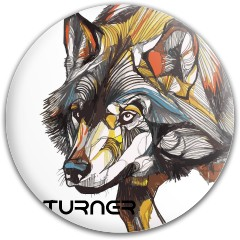 Wolf with last name Dynamic Discs Fuzion Felon Driver Disc