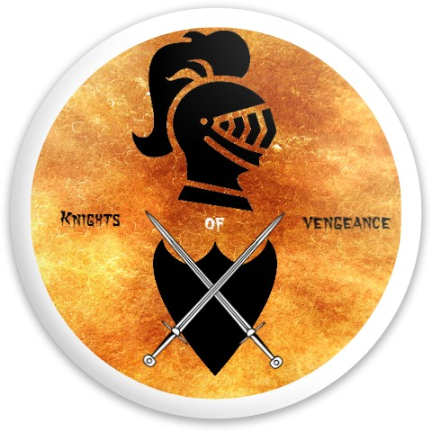 Knights of vengeance Latitude 64 Gold Line Knight Driver Disc