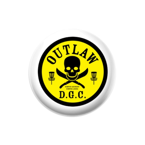 OUTLAW D.G.C. Mini Dynamic Discs Judge Mini Disc Golf Marker