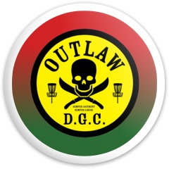 OUTLAW D.G.C. Dynamic Discs Fuzion Enforcer Driver Disc