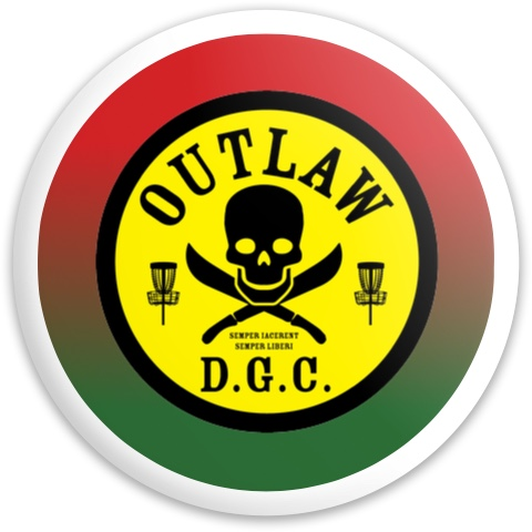 OUTLAW D.G.C. Dynamic Discs Fuzion Enforcer Driver Disc
