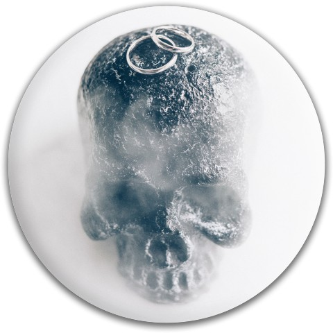 Design #64936 (Skull) Dynamic Discs Fuzion Suspect Midrange Disc