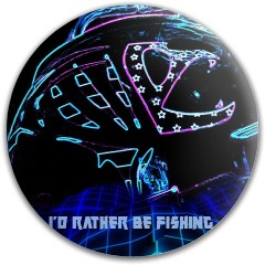 I'd rather be fishing Latitude 64 Gold Line Mercy Putter Disc
