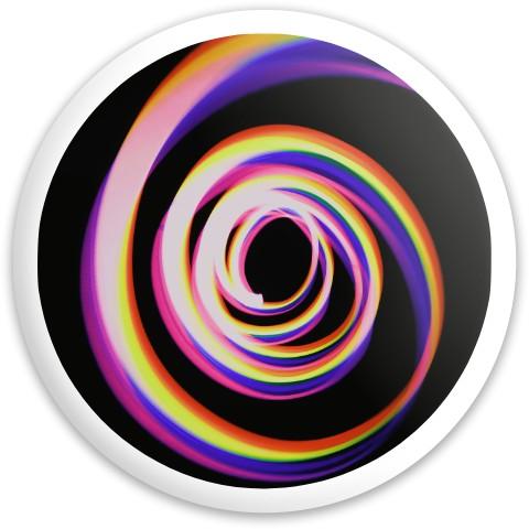 Design #65989 (Spiral) Dynamic Discs Fuzion Enforcer Driver Disc