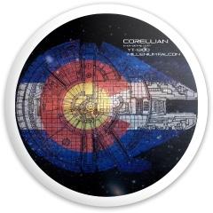 Colo Falcon Dynamic Discs Fuzion Sheriff Driver Disc
