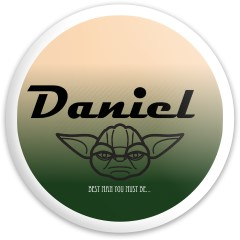 Daniel Latitude 64 Gold Line Compass Disc