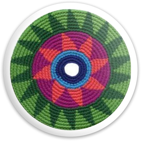 Crochet Disc Dynamic Discs Fuzion Defender Driver Disc