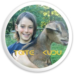 Taite Kudu Dynamic Discs Fuzion Sheriff Driver Disc