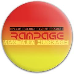 Rampage Dynamic Discs Fuzion Convict Driver Disc