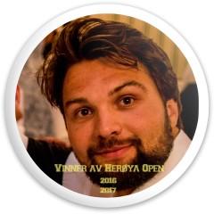 Herøya Open Champion Disc Dynamic Discs Fuzion Sheriff Driver Disc