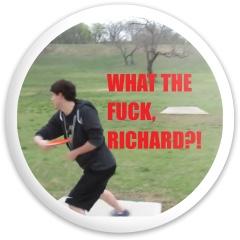 Richard Dynamic Discs Fuzion Sheriff Driver Disc