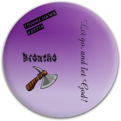 Let go and let Hod Dynamic Discs Fuzion Criminal Driver Disc
