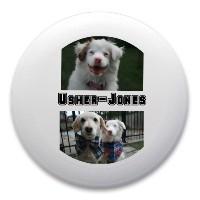 Usher-Jones Dog Disk Ultimate Frisbee