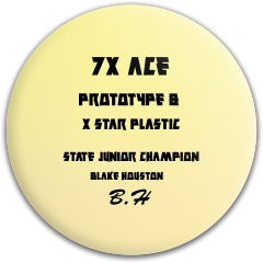 Prototype BH Dynamic Discs Fuzion Judge Putter Disc