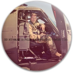 Pilot Dynamic Discs Fuzion Warden Putter Disc
