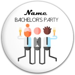 Bachelor's Party disc Latitude 64 Gold Line Compass Midrange Disc