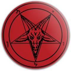 Red Baphomet Mercy Latitude 64 Gold Line Mercy Putter Disc