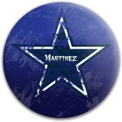 Dallas Cowboys Dynamic Discs Fuzion Justice Midrange Disc