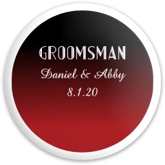 Groomsman #1 Dynamic Discs Captain Driver Disc