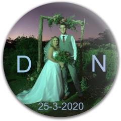 D&N wedding Westside Tournament Harp Putter Disc