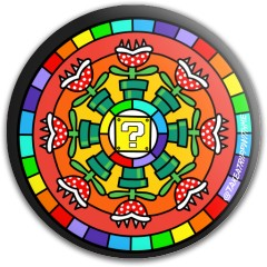 Piranha Mandala Latitude 64 Gold Line Pure Putter Disc