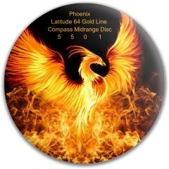 Latitude 64 Gold Line Compass Midrange Disc
