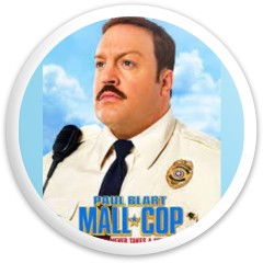 Paul Blart Dynamic Discs Fuzion Sheriff Driver Disc