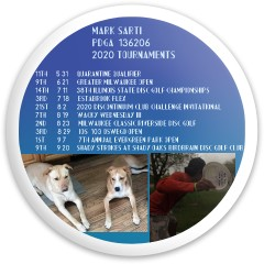 Mark's Tournaments Dynamic Discs Latitude 64 Opto Explorer