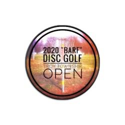 2020 Troy Township Dynamic Discs Judge Mini Disc Golf Marker