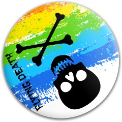 Flying Death Dynamic Discs Fuzion Judge Putter Disc