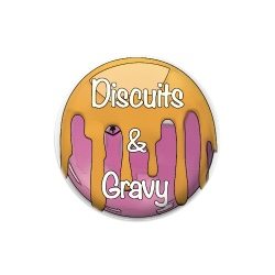 Discuits and Gravy Dynamic Discs Judge Mini Disc Golf Marker