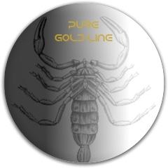 Faded Pure Scorpio Latitude 64 Gold Line Pure Putter Disc