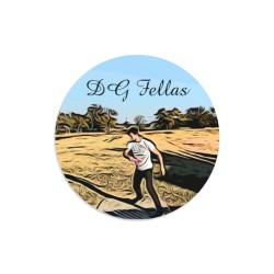 DG Fellas Dakota Dynamic Discs Judge Mini Disc Golf Marker