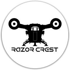 Razor Crest Disc Dynamic Discs Fuzion Warden Putter Disc