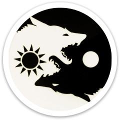 Ying Yang Wolf Dynamic Discs Vandal Driver Disc