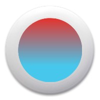red and blue Ultimate Frisbee