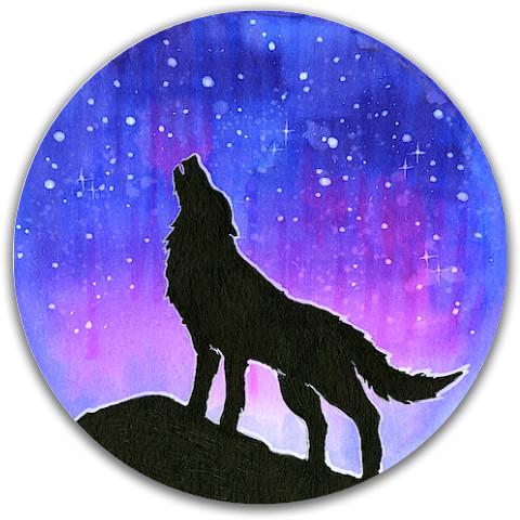 Starry Wolf Midrange Dynamic Discs Fuzion Justice Midrange Disc