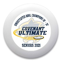 2021 Senior Ultimate Gift Ultimate Frisbee